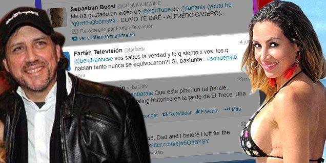 Belén Francese y su ¿ex novio? Esteban Farfan, solos en la noche de Buenos Aires