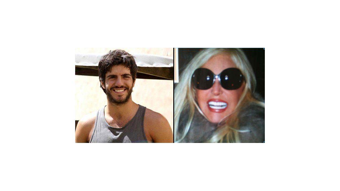 El galán de Telefe, Marco Antonio Caponi, se ríe de los dientes blancos de Susana