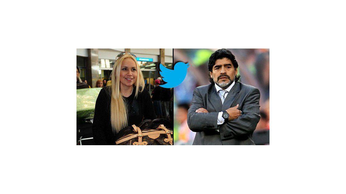 Verónica Ojeda desafía a Diego Maradona y publica fotos de su hijo en Twitter