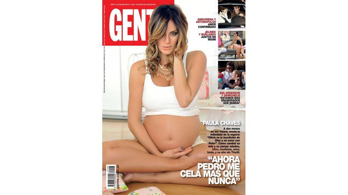 Paula Chaves, embarazada de Olivia: Ahora Pedro me cela más que nunca