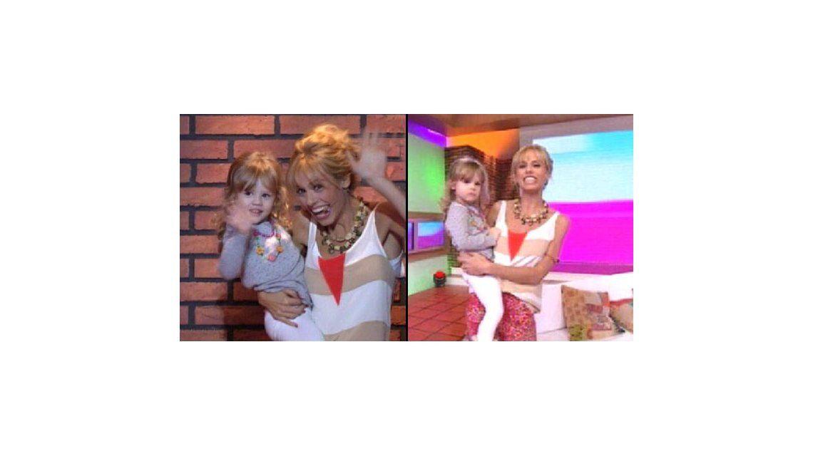 La felicidad y orgullo de Mariana Fabbiani: presentó a su hija Matilda en televisión
