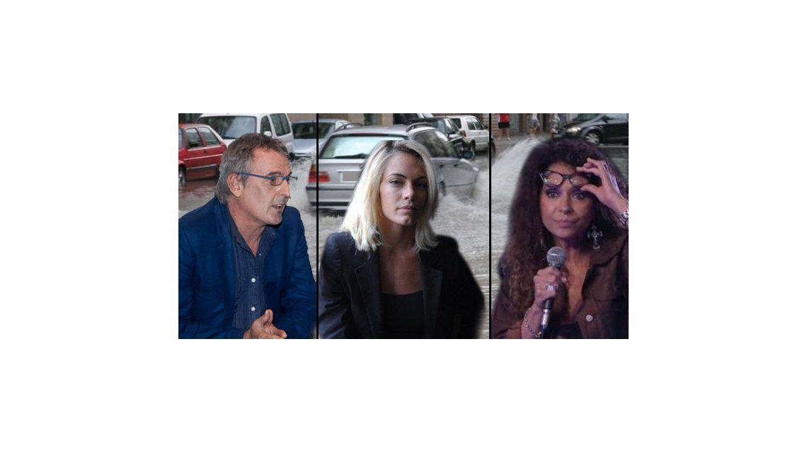 Tormenta otra vez en Buenos Aires: los tweets de los famosos