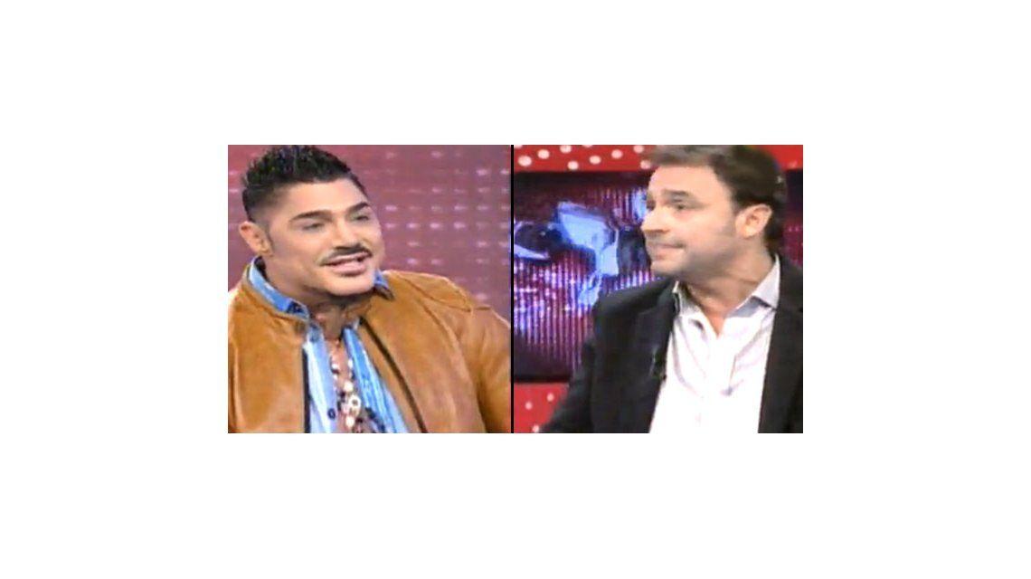 La insólita pelea de Adrián Pallares y Ricardo Fort por Maradona en Intrusos