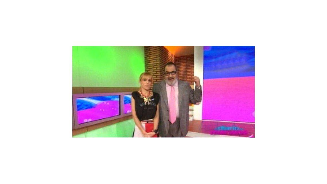 Empezó El Diario de Mariana, con Jorge Lanata como primer invitado