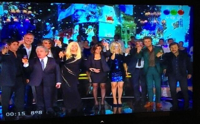 El Backstage del programa de Susana Giménez y los famosos que la acompañaron