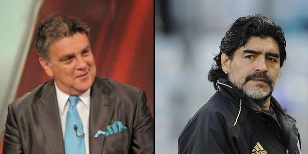 Luis Ventura lapidario contra la familia Maradona: Hacen todo por dinero