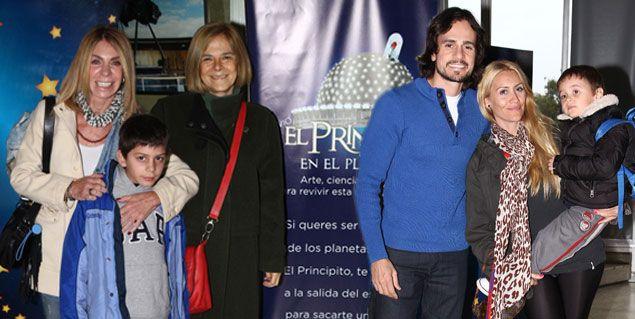 Se estrenó El Principito y los famosos dijeron presente junto a sus hijos