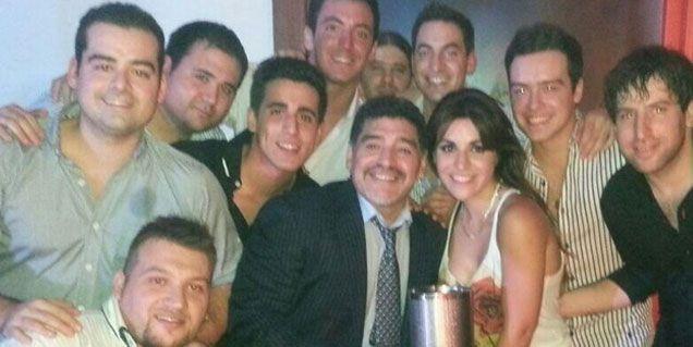 La intimidad del cumpleaños de Gianinna Maradona