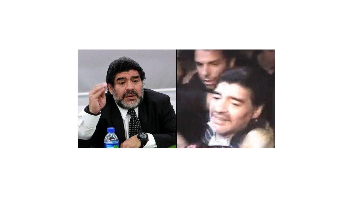 La llegada de Maradona: golpes, soberbia y escándalo