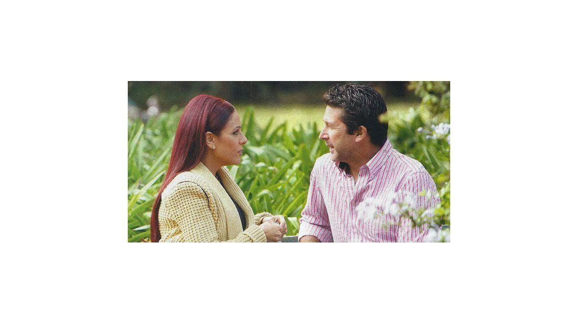 Iliana Calabró grabó el sketch con Susana, que la quiere con Rossi en el living