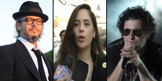 La seria advertencia de Victoria Vannucci y Garfunkel a Andrés Calamaro