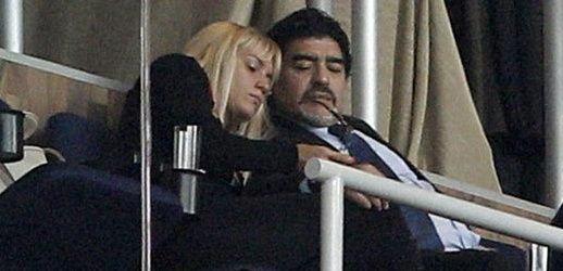 Tras la separación, Diego Maradona y Rocío Oliva, ¿se reconciliaron?