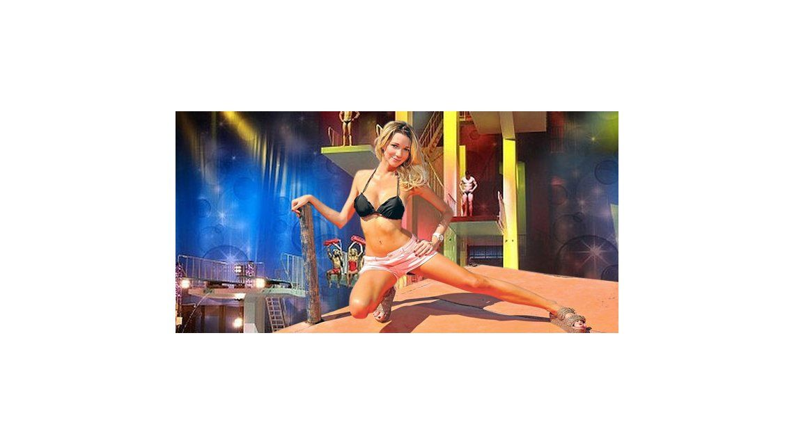 Mica Breque se prepara para Celebrity Splash: Siento vértigo en el trampolín