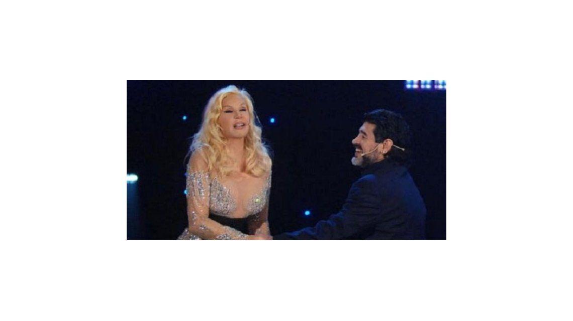 Susana Giménez quiere a Diego Maradona para su regreso a la televisión