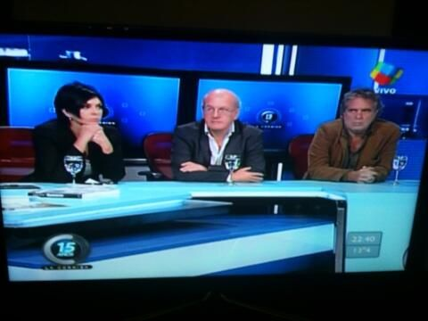 Mónica Gutierrez plantó a Majul y se fue del estudio de La Cornisa indignada