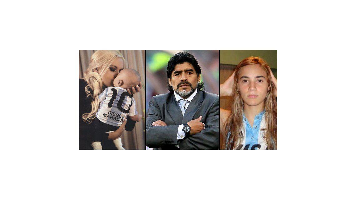 Maradona se habría separado de Rocío Oliva por culpa de Verónica Ojeda