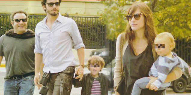 En sus primeras salidas públicas, Pampita y Benjamín Vicuña pasean en familia