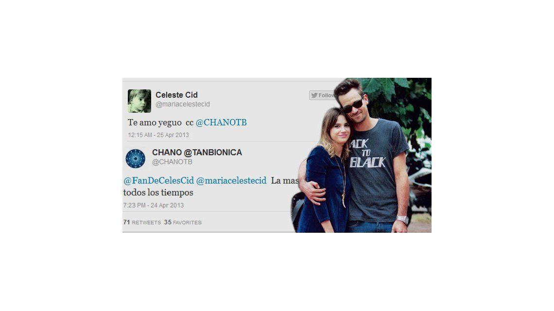 Amor 2.0: Celeste Cid y su novio se mandan mensajes por las redes sociales