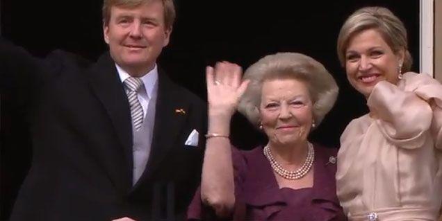Máxima Zorreguieta ya es reina de Holanda, y en Argentina es cadena nacional