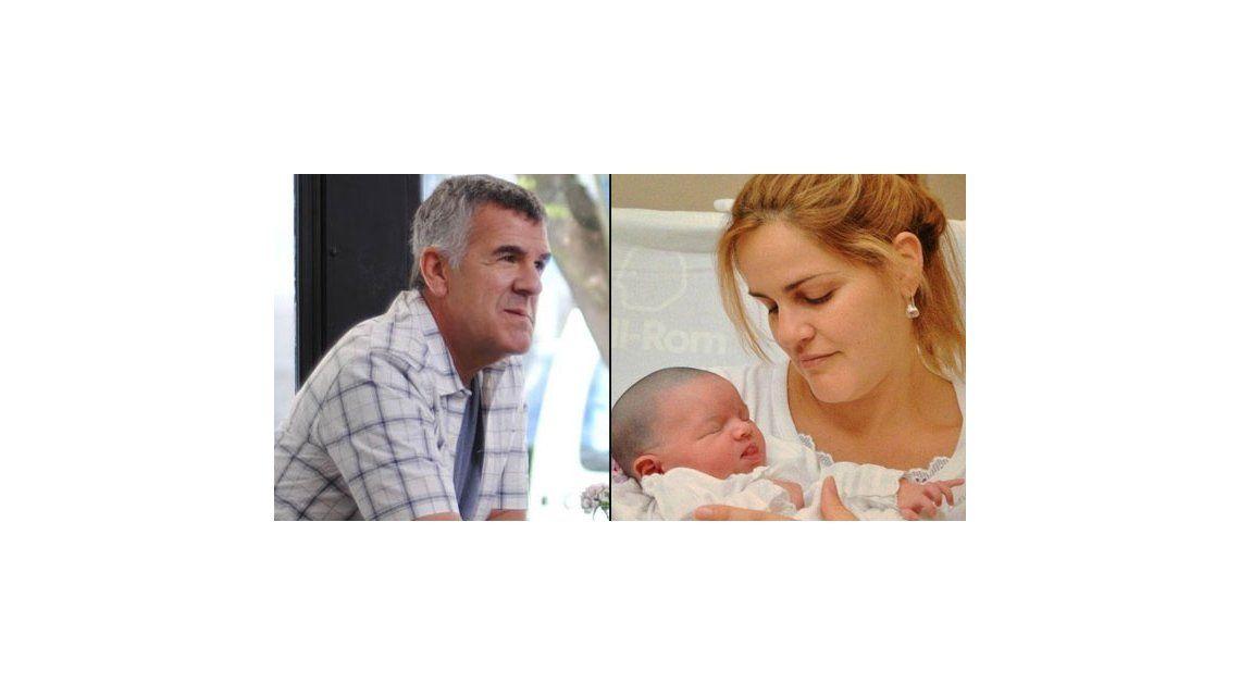 Dady Brieva y su mujer presentaron a Rosario, su segunda hija