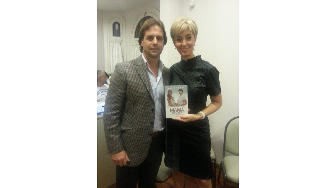 Marisa Brel presentó su nuevo libro: Mamá... ¡otra vez!