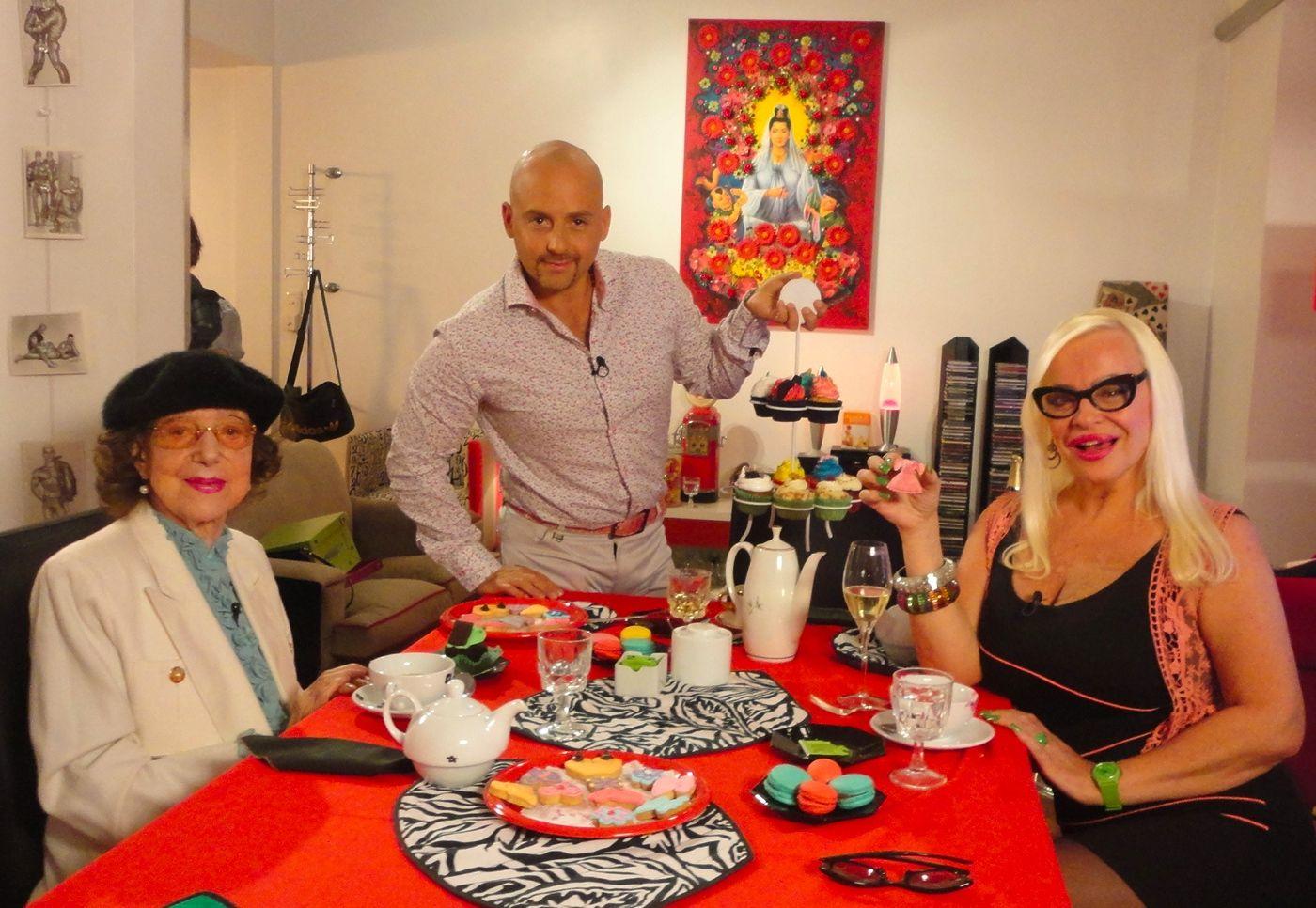 Muscari vuelve a la tv con Silvia Süller y Eugenia de Chikoff como invitadas