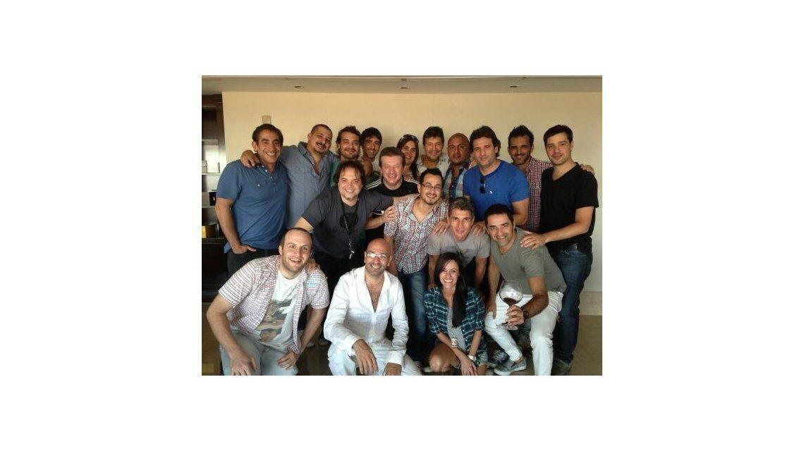 Marcelo Tinelli,  se reunió con su gente, para definir el futuro televisivo