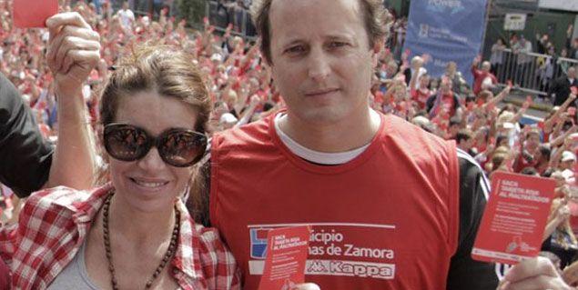 Flor Peña negó el amorío con el intendente: No estoy saliendo con Insaurralde