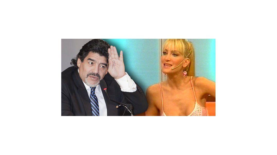 Gabriela Mandato: Maradona quiso salir conmigo y me mandó a buscar