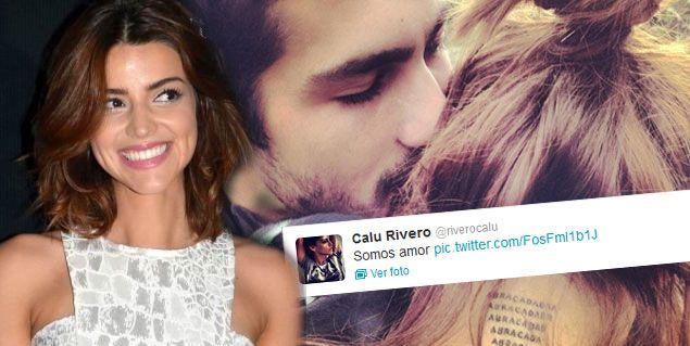 La foto más tierna de Calu Rivero y Chino Darín: Somos amor