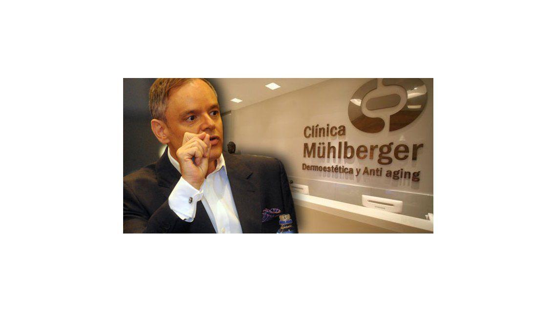 Luego de una semana mediática, allanaron la clínica del Doctor Mühlberger