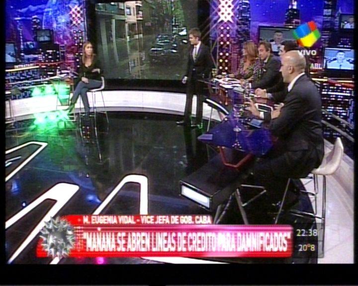 La Tv analizó el temporal: ¿Quiénes son responsables y cuáles las consecuencias?
