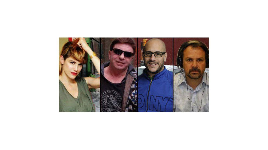 Famosos bajo el agua: Connie Ansaldi, Jacobo y Sylvestre víctimas del temporal
