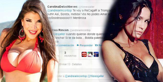 Andrea Rincón al límite: guerra vía twitter y separación de Ale Sergi