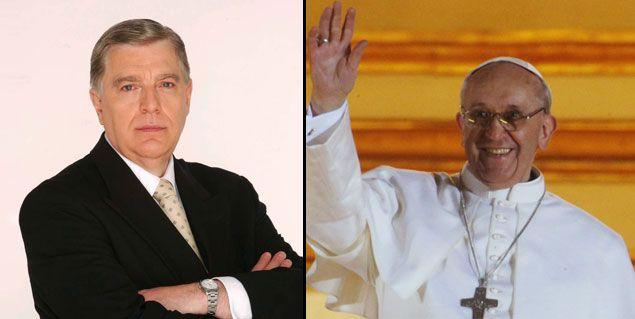 Santo Biasatti viaja al Vaticano para un mano a mano con el Papa Francisco