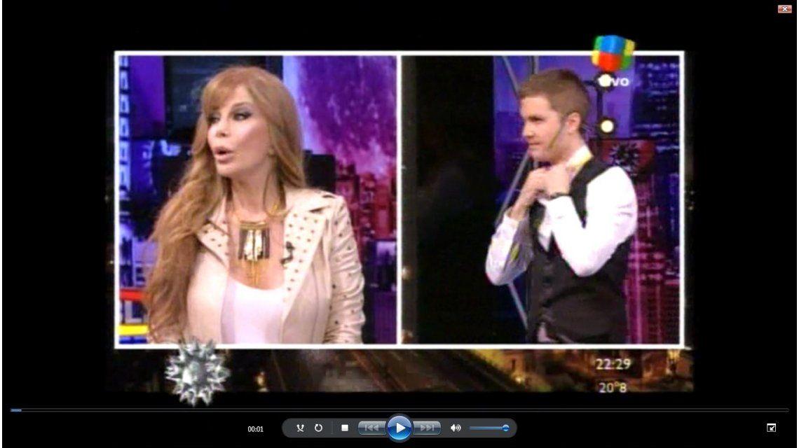 Graciela Alfano desminitió el romance con Palito Ortega
