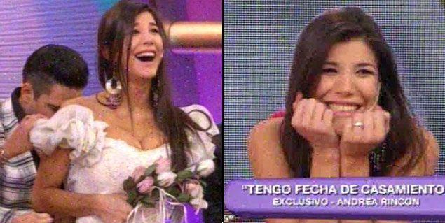 ¡Que vivan los novios! Andrea Rincón y Ale Sergi tienen fecha de casamiento