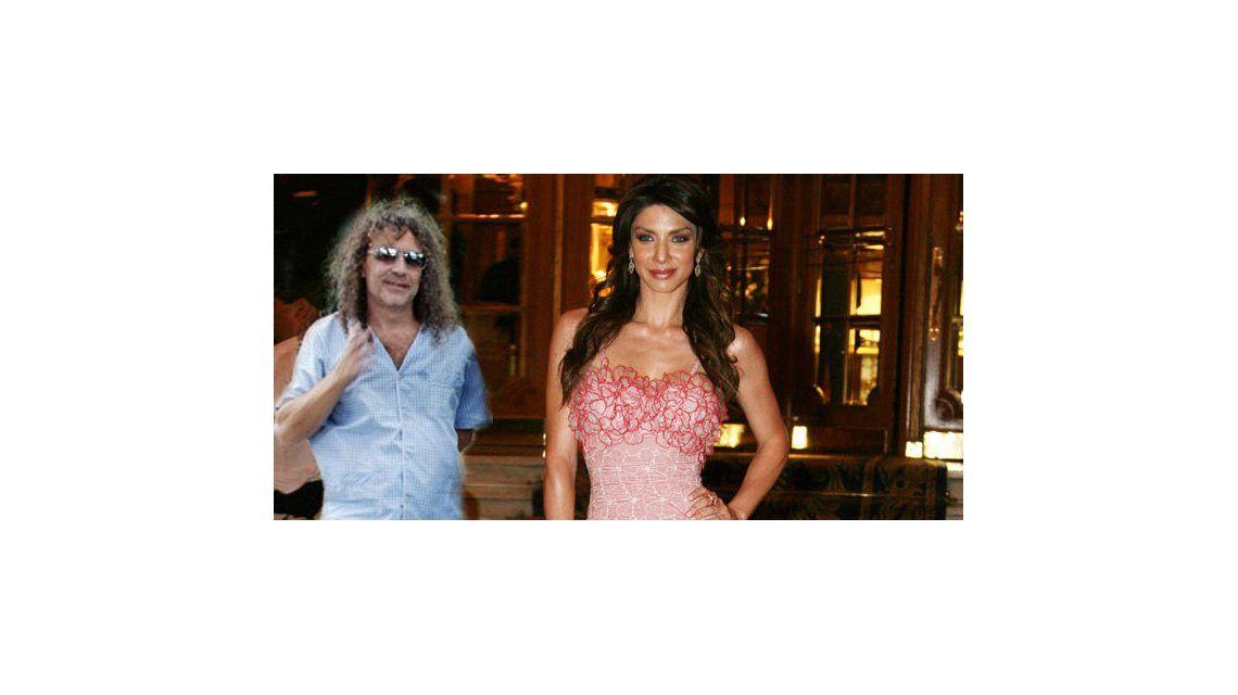 Romina Gaetani, de novia con Oscar Righi, guitarrista de La Bersuit Vergarabat