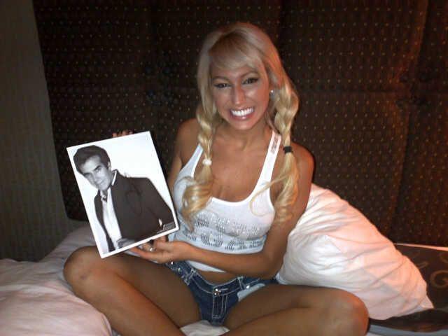 Las Vegas: el romance de David Copperfield y Vicky Xipolitakis