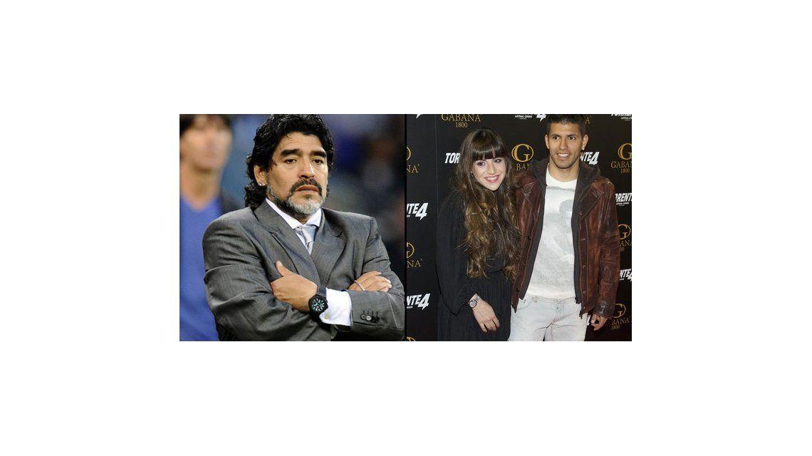 Agüero y una falsa promesa a Maradona: Siempre amaré y cuidaré a Giannina