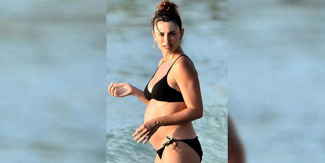 Las primeras fotos de Penélope Cruz embarazada de seis meses
