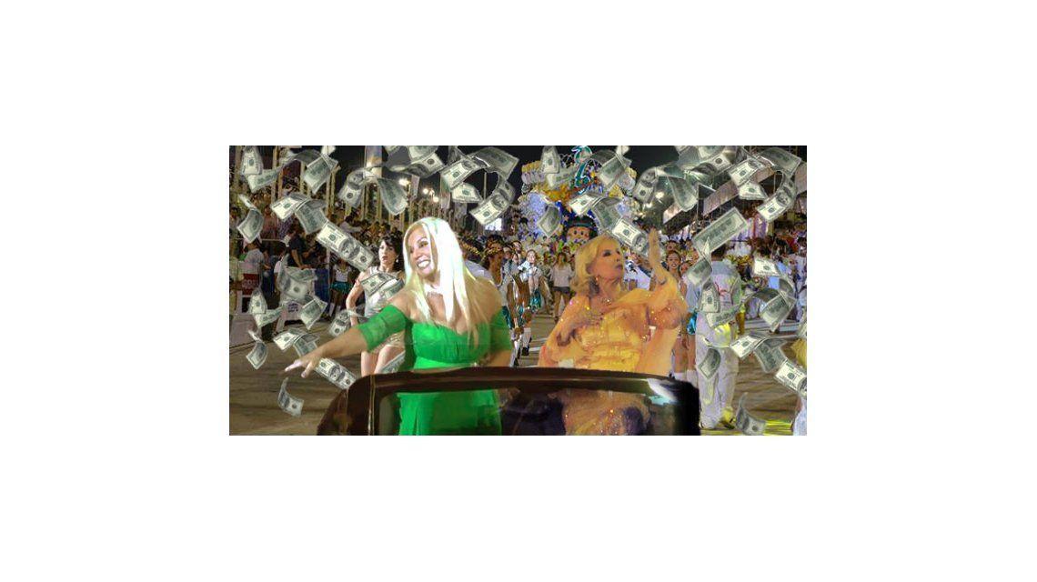 ¿Cuánto cobraron para ir al carnaval de San Luis, Mirtha Legrand y Susana Giménez?