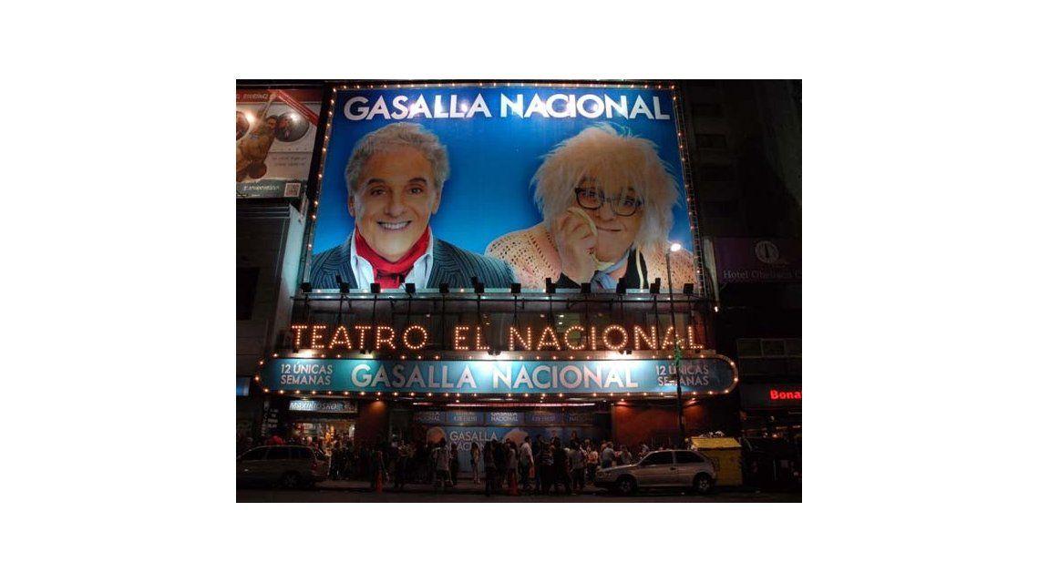 Antonio Gasalla suspendió la función de anoche de su espectáculo teatral
