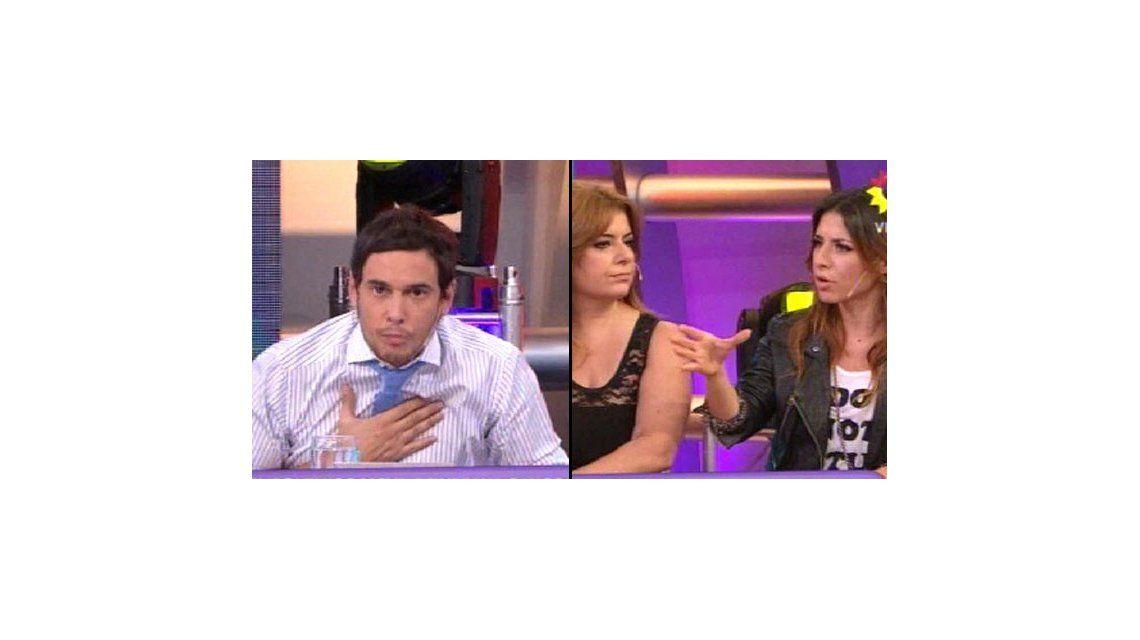 Andrea Taboada y Mariana Brey vs Rodrigo Lussich por Viviana Canosa