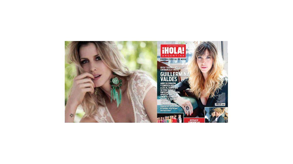 Guillermina Valdes es tapa de revista Hola de esta semana