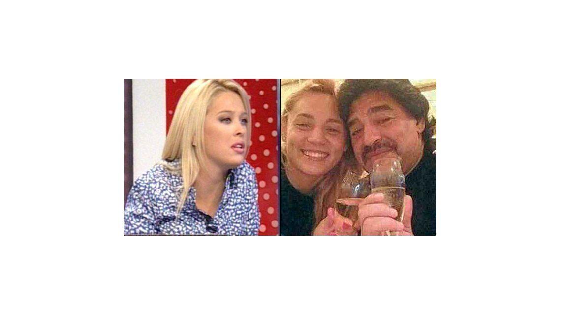 La difícil historia de vida de Rocío Oliva, la novia de Diego Maradona