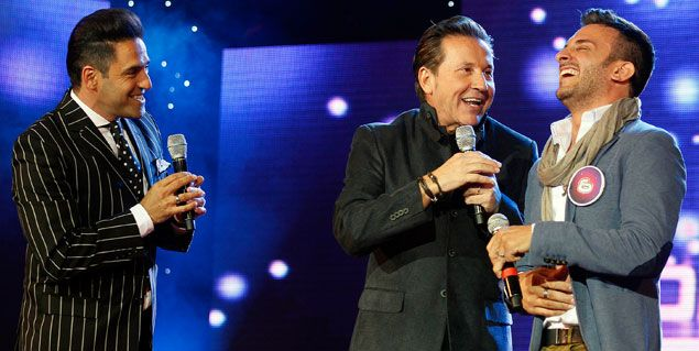 Ricardo Montaner visitó el Soñando por cantar