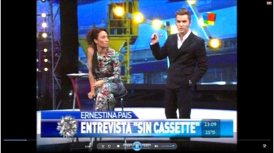 Ernestina Pais presentó su ingreso a Desayuno Americano y atacó a Vernaci