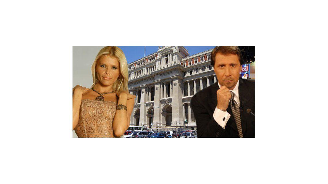 Nazarena Vélez y Eduardo Feinmann finalmente estarán cara a cara