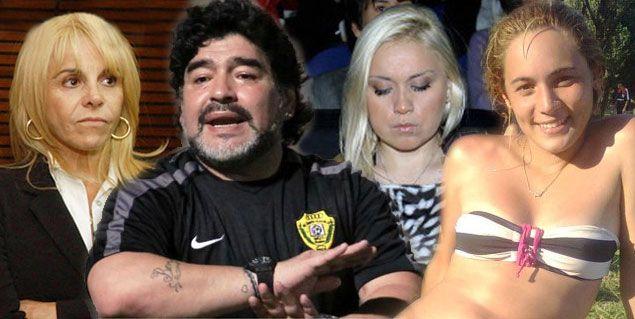 Maradona las prefiere rubias y combativas